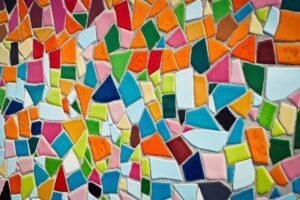 mozaiek matjes
