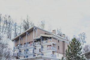 vakantiehuis in een skigebied